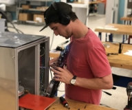 product developer adds circuit board to enclosure