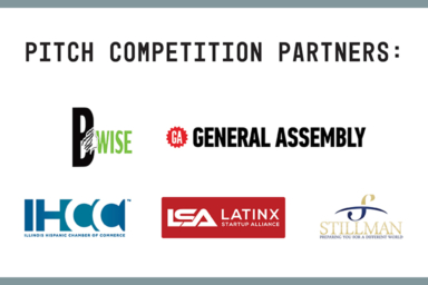Industrial pitch competition partners