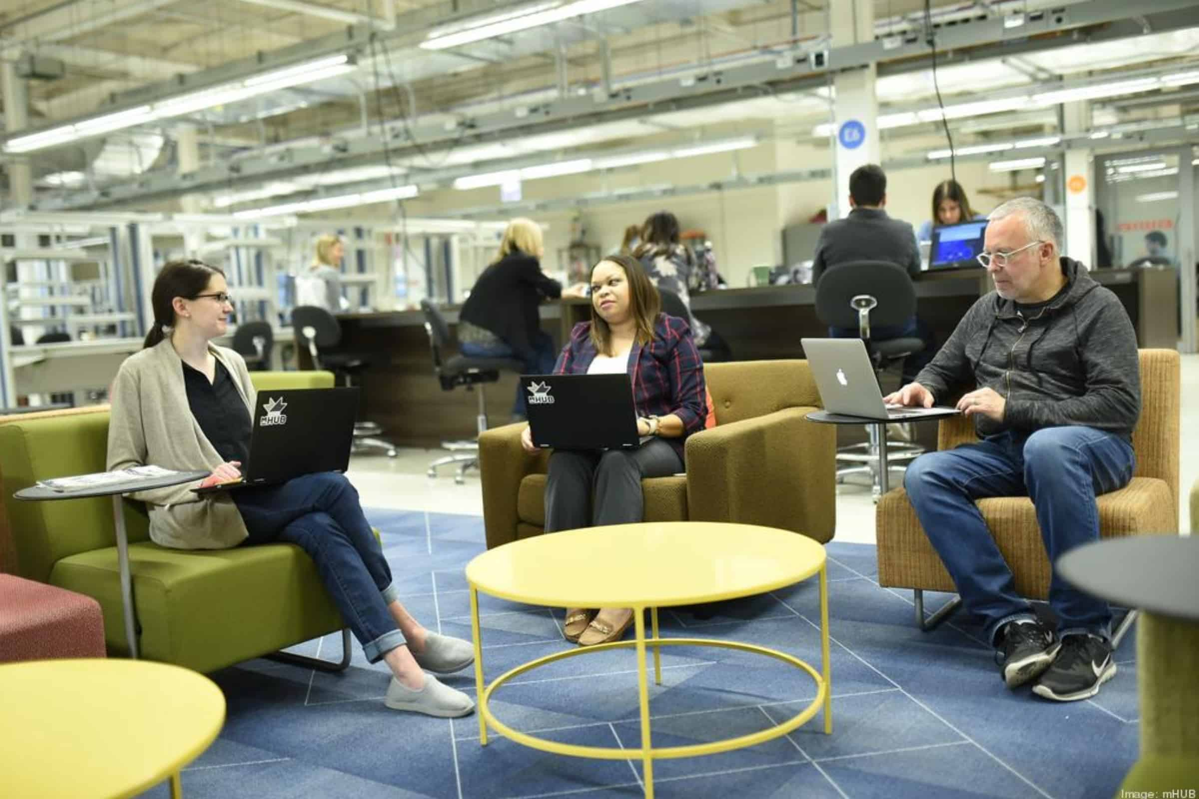 co-working space in Chicago