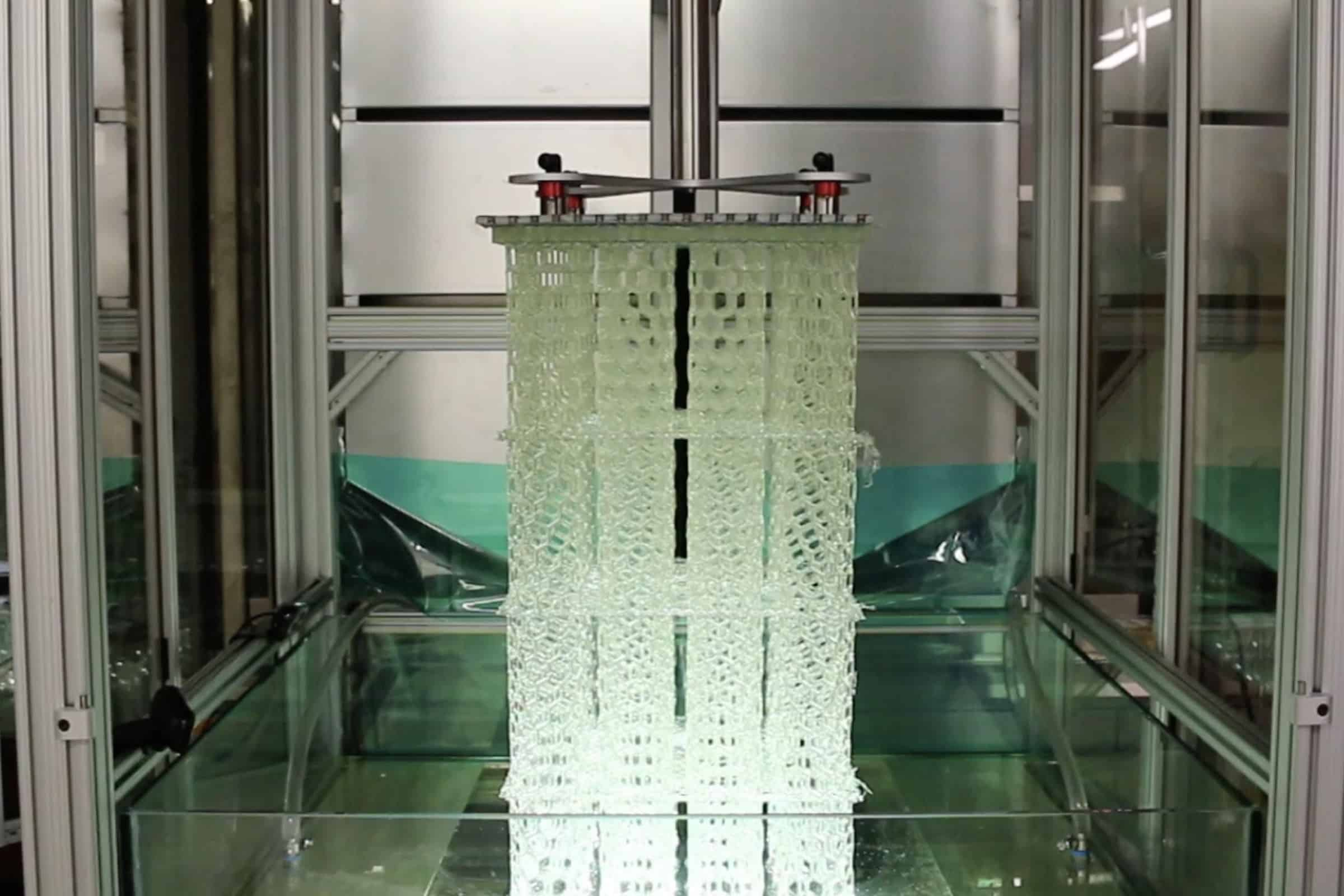 A 3D printer by Azul 3D, founded by three Northwestern University researchers, can print production-grade, human-sized objects in just a few hours.